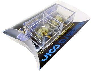 日本精機宝石工業株式会社 JICO レコード針 SHURE N-44G/CLUB用交換針 蓄光タイプ 【2個セット】 丸針 針カバー付 192-44G/CLUB two-piece