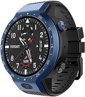 SZJNL Relojes Inteligentes Tarjeta Enchufable, Impermeable IP67 Mujer Hombre Smartwatch Pulsera Inteligente con Pulsómetro Podómetro Pulsera Actividad Inteligente con Monitor de Sueño,Azul