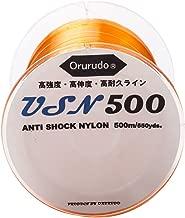 オルルド釣具 ナイロンライン USN500 アンチショックナイロン採用 「Ultra Soft Nylon(ウルトラソフトナイロン)」 高伸度・高強度・高耐久釣糸 qb210001