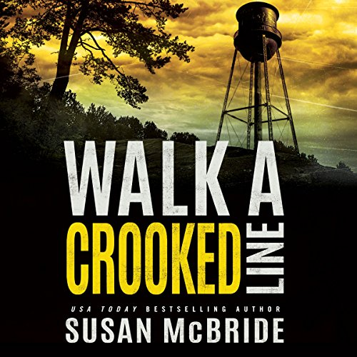 Walk a Crooked Line audiobook cover art
