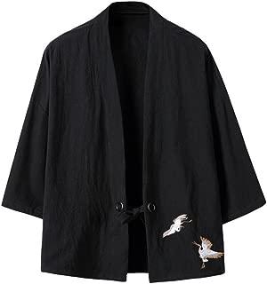 Best mens black kimono cardigan Reviews