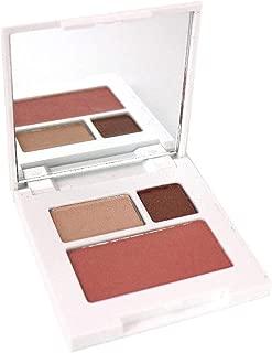 Clinique Colour Surge Eye Shadow Duo Like Mink 0.03oz/1g &Blushing Blush Powder Blush/sunset Glow 0.06oz/1.8g