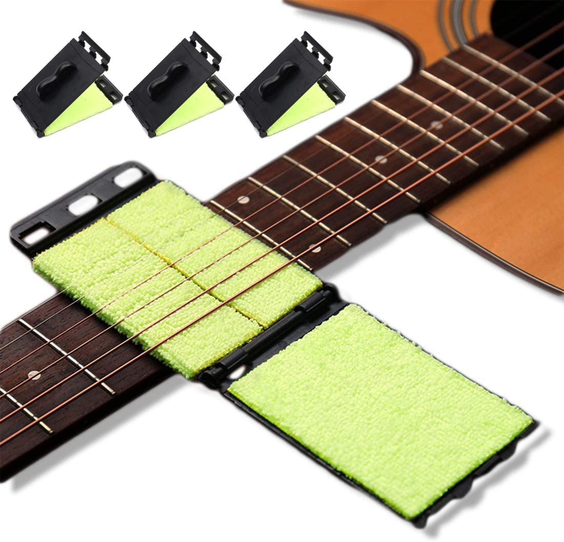 Guitar String Cleaner 3Pcs Fingerboard Kit price Bra Cleaning shipfree