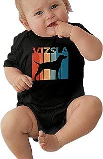 Funny Vizsla Puppy Dog Cartoon Unisex Baby Comfortable 100% Cotton Bodysuit