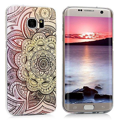MOTIKO - Funda para Samsung Galaxy S7 Edge, diseño de PC Flexible, Antideslizante, Ultrafina, Ligera, para Samsung Galaxy S7 Edge