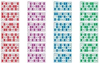 TONOSEVILLA.COM 24 CARTONES para Bingo: Amazon.es: Juguetes y juegos