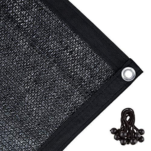 Agfabric 70% Sun-Block Shade Cloth Net Mesh Shade with Grommets for Garden Patio 10