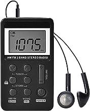 Personal Pocket Radio Portable, Mini Digital Tuning Walkman Radio, Lock Screen for Walk/Jogging/Gym/Camping