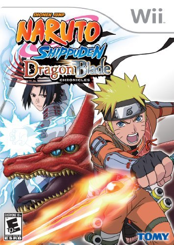 Naruto Shippuden: Dragon Blade Chronicles - Nintendo Wii by Atlus