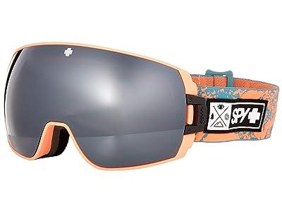 Spy Optic Legacy SE (Coral Stone/Bronze/Silver/Yellow/Green Spectra Mirror) Goggles