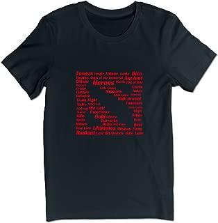 ELNDB-Adults Dota 2 Term Dota 2 Logo T-Shirts for Men Black