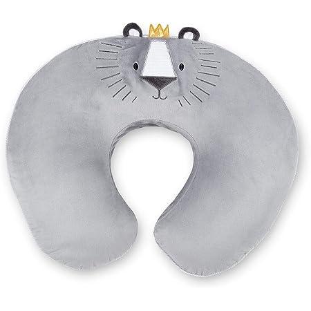 Chicco Boppy 04079903300000 - Edición Limitada Royal Lion - Cojín De Lactancia, Unisex, Plata