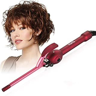 Chopstick Curling Iron Curling Wand,Curler with Ceramic Tourmaline Barrel, Dual Voltage Curling Wand with Adjustable Tempe...