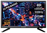 TV LED 22' INFINITON Full HD (Especial 12V Caravana) Reproductor y Grabador USB,1 x HDMI, Modo Hotel