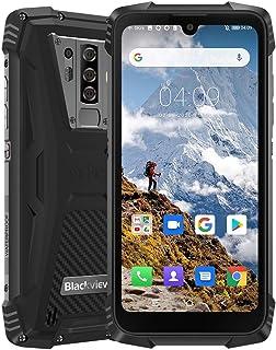 Blackview BV6900 Movil Resistente 4G, Helio P25 4GB + 64GB, IP68 Movil Antigolpes Android 9.0, SIM Dual, batería 5580 mAh,NFC (Negro)