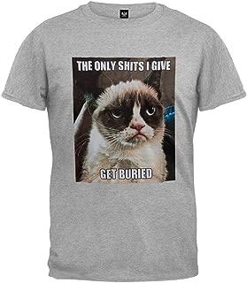 Grumpy Cat - Get Buried Soft T-Shirt
