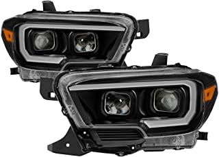 Carpart4u for 2016-2018 Tacoma SR & SR5 Models only (Don't Fit TRD Models) DRL Light Bar w/Sequential Turn Signal