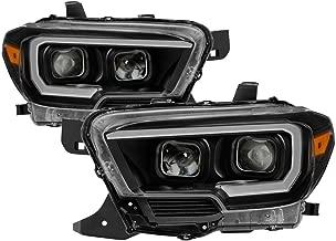 Carpart4u for 2016-2018 Tacoma SR & SR5 Models only (Don't Fit TRD Models) DRL Light Bar w/Sequential Turn Signal