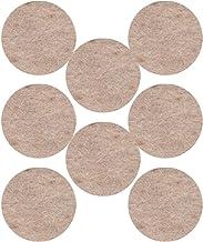 3M Viltglijders met afgeronde randen, 25 mm, beige, UU003708524