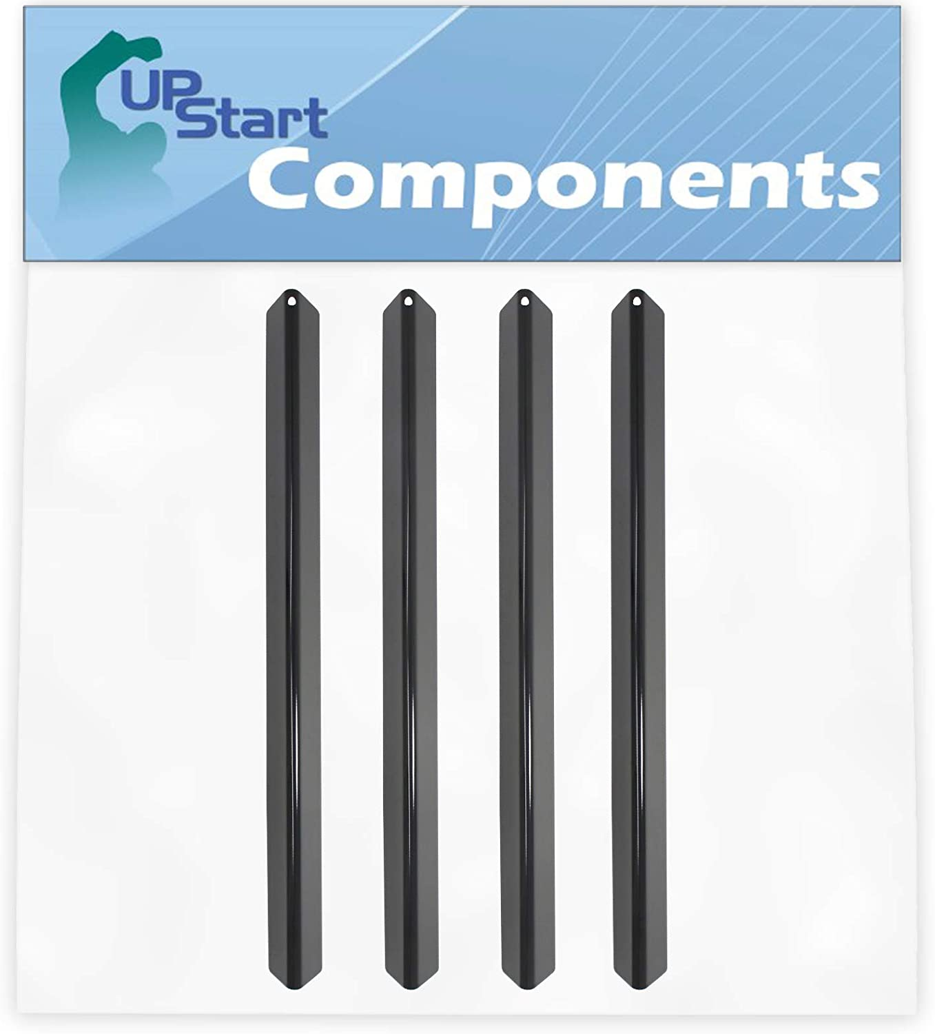 4-Pack BBQ Grill Heat Shield Plate We Parts Atlanta Mall Replacement Tent for Shipping included