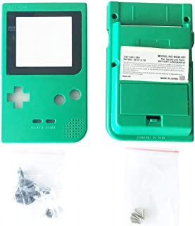 OSTENT Full Housing Shell Case Cover Replacement for Nintendo GBP Game Boy Pocket Console Color Green