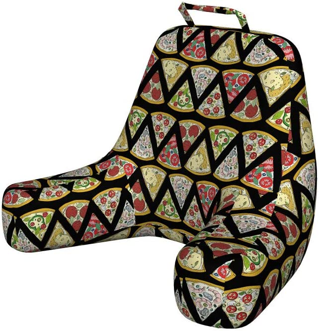 Ambesonne Pizza Foam Spring new work one after another Reading Pillow Slice of Tucson Mall It Cartoon Pattern
