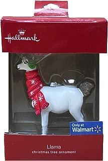 Hallmark Llama 2018 Christmas Tree Ornament (Exclusive Walmart Edition)