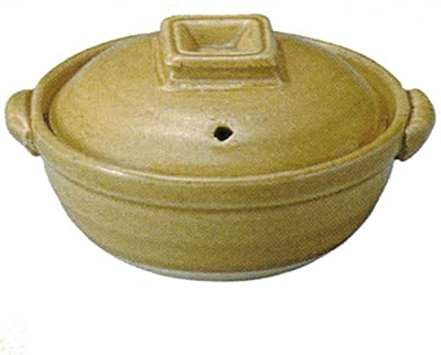 CtoC JAPAN Select 土鍋 イエロー 4号中深鍋 12.5cm 200cc 直火 電子レンジ オーブン 対応 58-14581/2-981817 萬古焼
