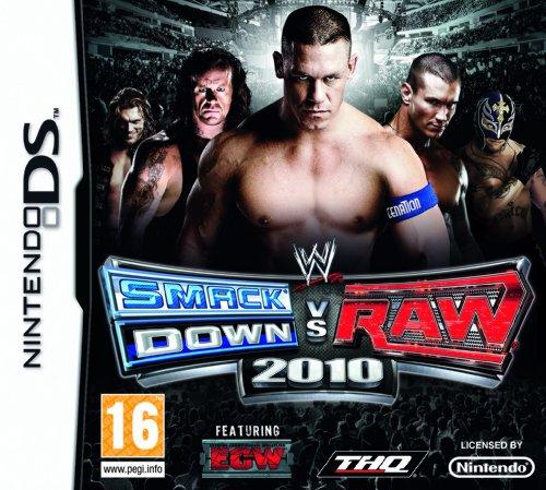 WWE SMACKDOWN VS RAW 2010 / Nintendo DS gioco in ITALIANO MULTI LINGUE (compatibile con le consoles NINTENDO DS LITE-DSI-3DS-2DS-XL-NEW)