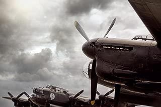 Avro Lancaster British WWII Bomber Aircraft Photo Art Print Laminated Dry Erase Sign Poster 18x12