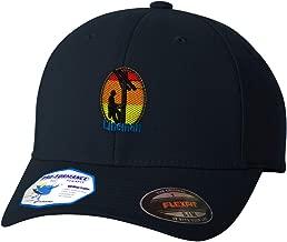 Custom Flexfit Baseball Cap Lineman Occupation B Embroidery Design Polyester Hat