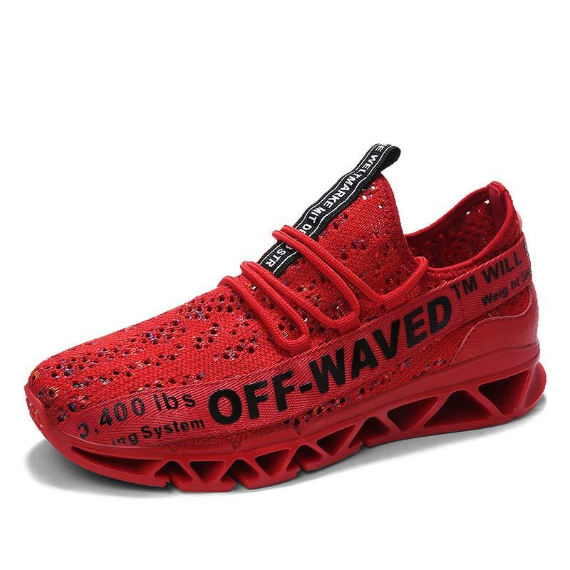 (アメリカ合衆国)FOMCORTブレードソールランニングシューズメンズシューズ通気性のあるカジュアルスニーカー潮の靴ウェアラブルワイルド