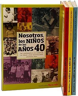 Calledelregalo Libro de tu año de Nacimiento, Libro de la década de los 40 con Tarjeta Personalizada - Regalo para cumplea...