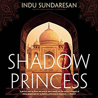 Shadow Princess audiobook cover art