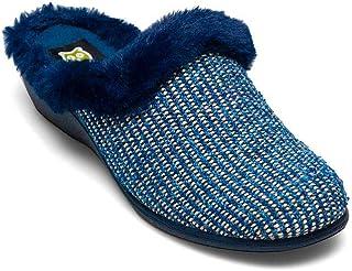 Slippers - Cuneo blu marino