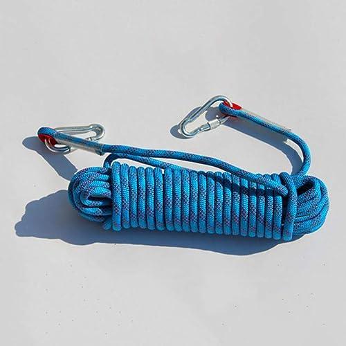 LIZIPYS Cordes Corde Statique, Corde de sécurité - Convient for la randonnée Le Sauvetage l'escalade Le Travail aérien