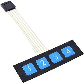 5PCS New 1x4 Key Matrix Membrane Switch Control Panel Slim Keyboard Keypad