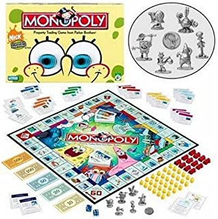 spongebob monopoly board game