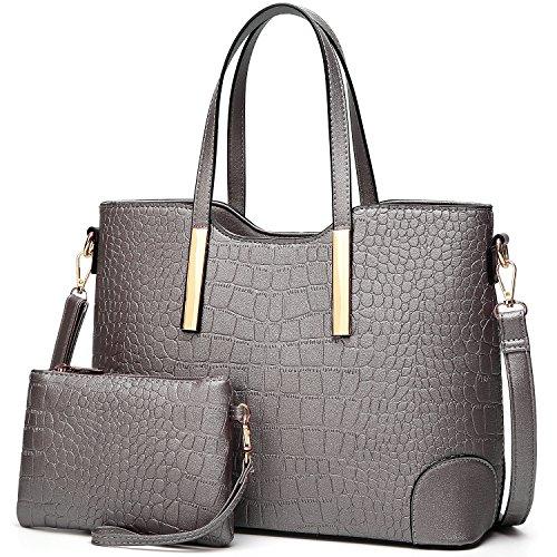 TcIFE Handtasche Damen Groß Handtaschen Set Für Frauen Umhängetasche Taschen