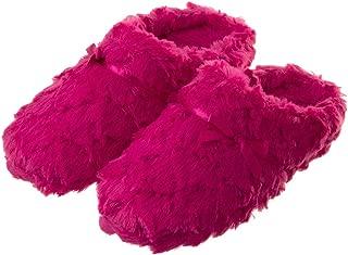 Tofern Slippers Ultra Soft Comfy Fluffy Warm Satin Memory Foam Non Slip Sole Winter