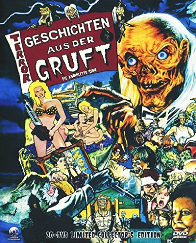 Geschichten aus der Gruft - Die komplette Serie [ Limited Collector's Edition ] Staffel 1-7 incl. Bootlek [20 DVDs]
