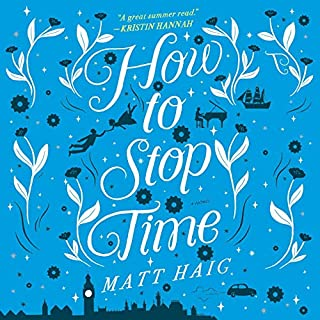 How to Stop Time audiobook cover art