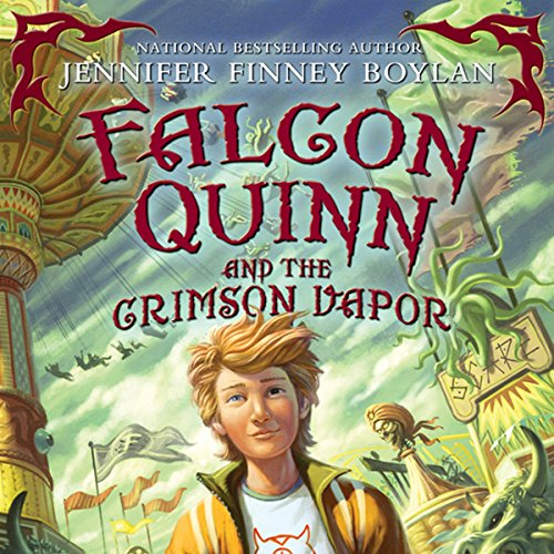 Falcon Quinn and the Crimson Vapor cover art