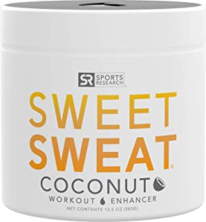 Sweet Sweat Coconut 'Workout Enhancer' Gel – 'XL' Jar (13.5oz)