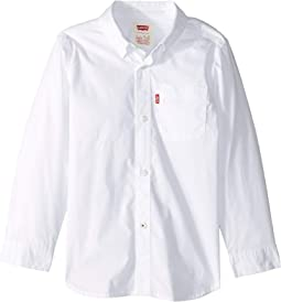 Long Sleeve One-Pocket Shirt (Little Kids)