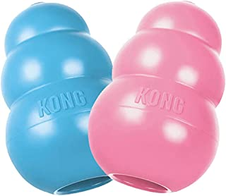 KONG Large Puppy Teething Toy - Colors May Vary (2 Pack)