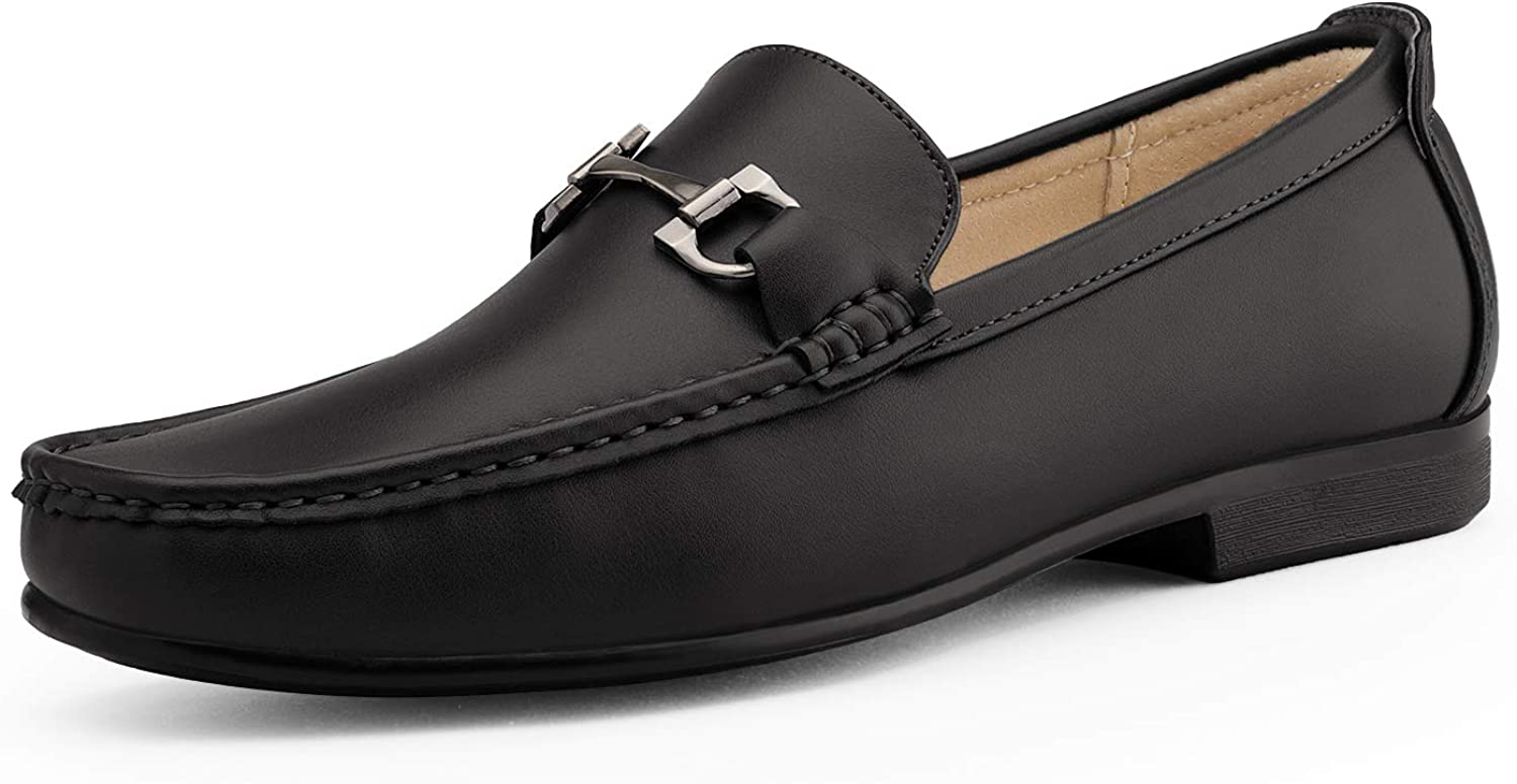 Portland Mall Bruno Marc Men's Dress 2021 new Loafers Slip On Loafer Driving Casual