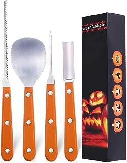 Halloween Pumpkin Carving Kit, Pumpkin Carving Tools Knife, Great Pumpkin Carving Kit for Kids and Adults