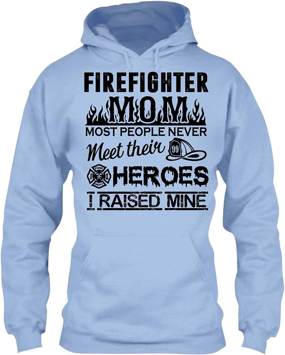 Arered Firefighter T Shirt  Firefighter Mom Cool T Shirts Design