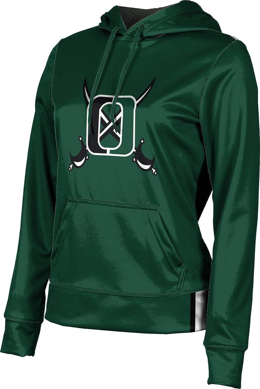 ProSphere Oceanside High School Girls' Pullover Hoodie, School Spirit Sweatshirt (Solid)